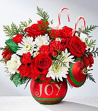 FTD Season's Greetings Bouquet Christmas Arrangement