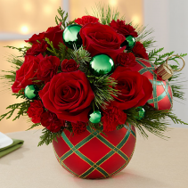 FTD Seasons Greetings Christmas Flowers