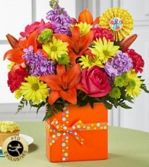 FTD Set to celebrate Birthday Bouquet