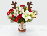 FTD Shine Bright™ Bouquet Holiday Arrangement