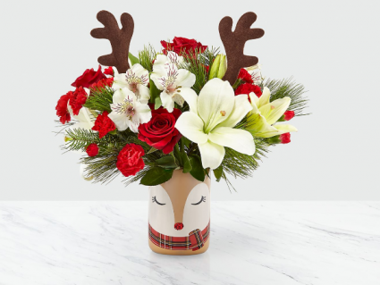 FTD Shine Bright™ Bouquet Holiday Arrangement