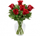 Simply Enchanting Rose Bouquet - 918 Vase Arrangement