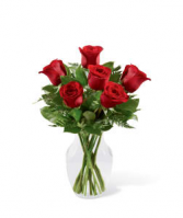 FTD Simply Enchanting Rose Bouquet Vase Arrangement