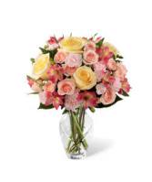 FTD Spring Garden Bouquet Vase Arrangement