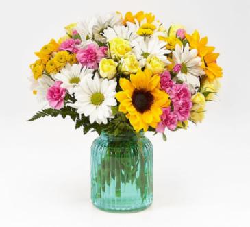 FTD Sunlit Meadows Bouquet Fresh Floral