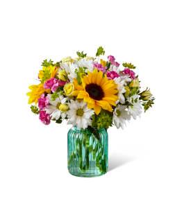 FTD Sunlit Meadows Vase Arrangement