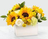 FTD Sweet as Lemonade™ Sunflower Bouquet FTD Fresh Cut Arrangement