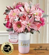 FTD Sweet Baby  Girl Bouquet by Hallmark