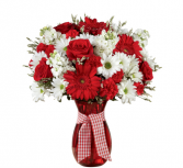 Sweet Perfection Bouquet - 487 Vase Arrangement