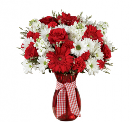 FTD Sweet Perfection Bouquet Vase Arrangement