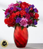 FTD Sweethearts Bouquet  Vased Fresh Flowers
