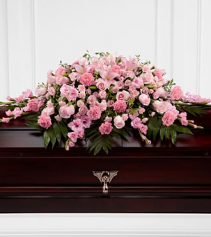 FTD Sweetly Rest  Funeral Flowers