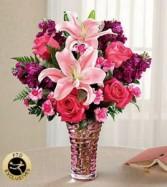 FTD Timeless Elegance Bouquet Vase arrangement