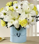 FTD Tiny Miracle Baby Boy Flower arrangement