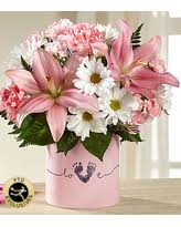 FTD Tiny Miracle Baby Girl Flower arrangement