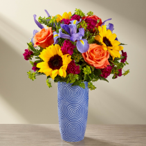 FTD Touch of Spring Bouquet Special Vase Arrangement