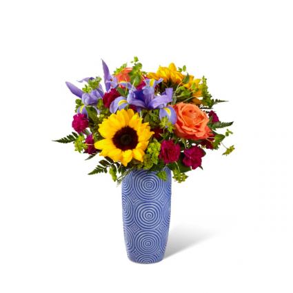 Touch of Spring® Bouquet VASE ARRANGEMENT