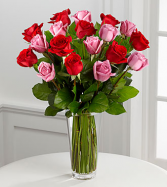 FTD True Romance  Vase arrangement