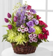 FTD Truly Loved Basket Fresh Arrangement