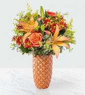 FTD Warm Amber Bouquet