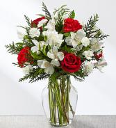 FTD Winter Walk Bouquet Christmas arrangement
