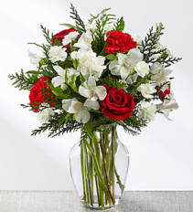 FTD Winter Walk Bouquet Christmas arrangement