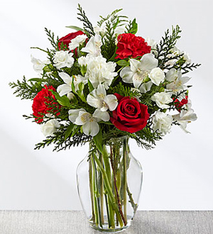 FTD Winter Walk Bouquet Arrangement