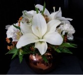 FTD15F7 Bronze Metallic Bowl Arrangement