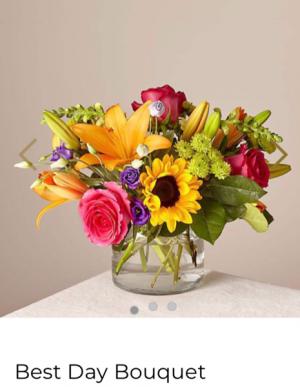 FTD's Best Day Bouquet  Fresh mixed arrangement  in Auburndale, FL   The House of Flowers