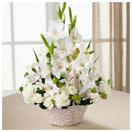FTD's Eternal Affection™ Arrangement Sympathy Basket Arrangement