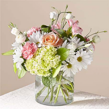 FTD's Flutter Bouquet Vased Arrangement
