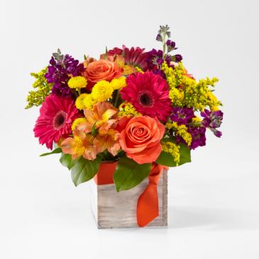 FTD's Punch Bowl Bouquet