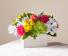 FTD's Sorbet Bouquet  Fresh arrangement in wooden box