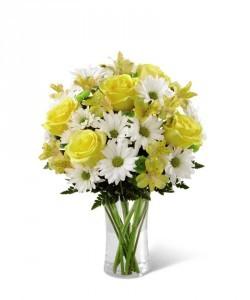 FTD's Sunny Sentiments Bouquet