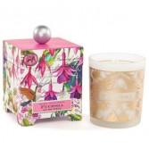 Fuchsia candle Candle