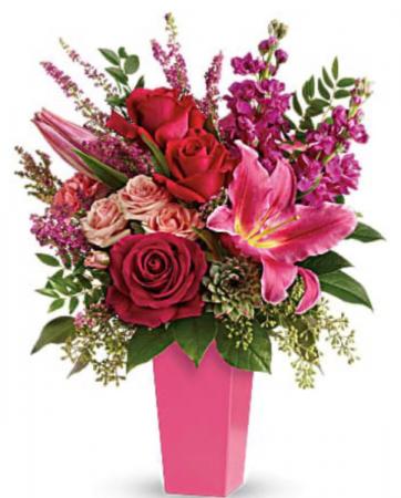 Fuchsia  Inspired   Vase