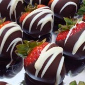 Fudge Dipped Strawberries- SPECIAL ORDER ONLY REQUIRES 24 HR. NOTICE- only available in Fremont County