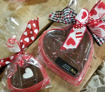 Fudge Hearts Valentine's day