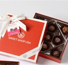 Fudge Love Box of Sweet Shop USA Handmade Chocolate