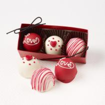 Fudge Love Truffles Valentines