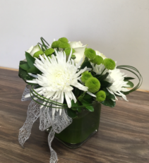 Fuji's and kermilts Vase arrangement