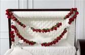 Full Casket  Rosary Inside Casket