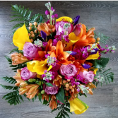 FULL COLOR BRIDAL BOUQUET BRIDAL BOUQUET