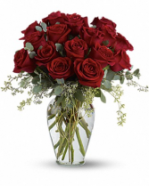 Full Heart - 16 Red Roses Bouquet