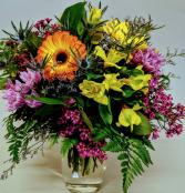 Full of Color  Vase Arrangement