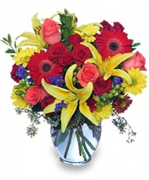 Full of Colors Bouquet Flower Delivery Fort Worth