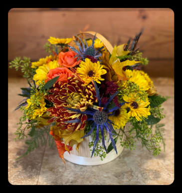 Full of Fall Basket Arrangement