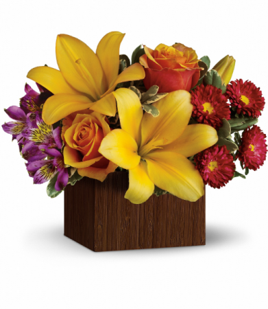 Full of Laughter All-Around Floral Arrangement