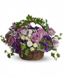 Full Of Life Tribute Basket