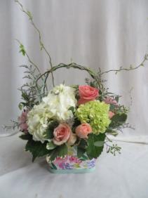 Full Of Love Basket of Fresh Cut Flowers